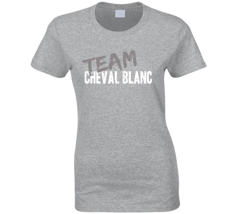 Team Cheval Blanc Top Chef Foodie Worn Look Celebrity Ladies T Shirt