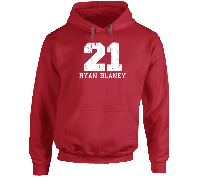 Ryan Blaney No.21 Nascar Driver Fan Worn Look Cool Sports Hoodie