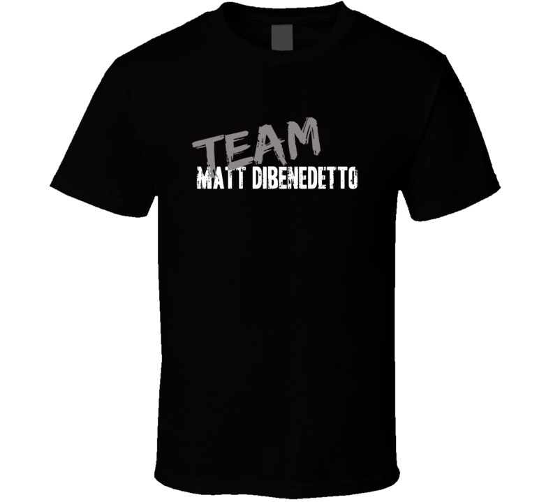Team Matt Dibenedetto Nascar Driver Fan Worn Look Cool Sports T Shirt