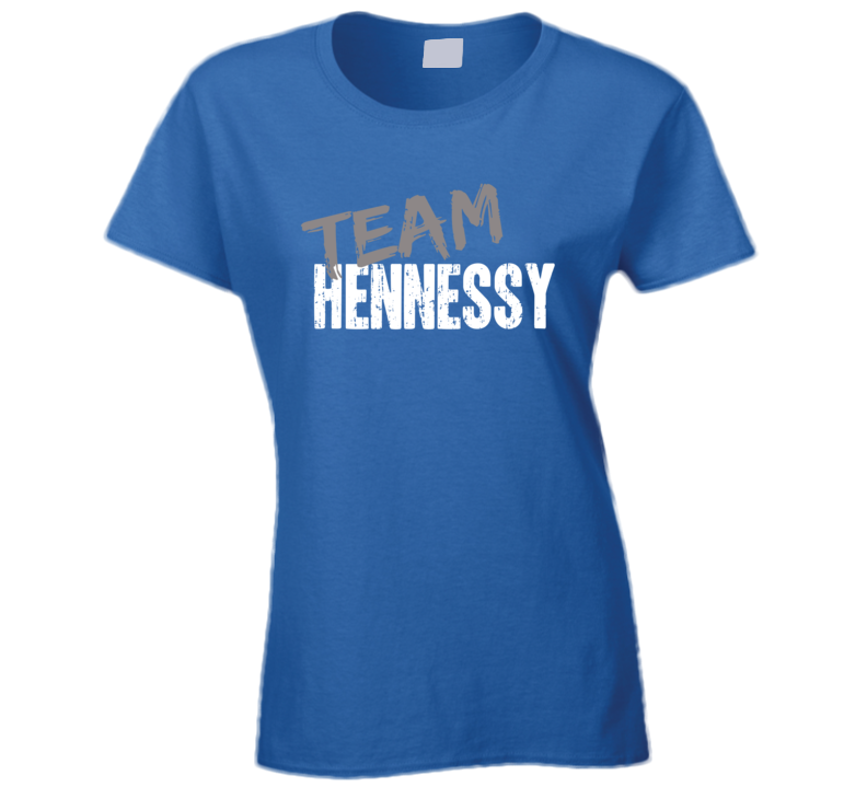Team Hennessy Surfing Fan Worn Look Cool Sports Gift Ladies T Shirt