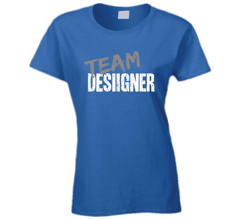 Team Desiigner Top Rap Music Artist Worn Look Celebrity Ladies T Shirt