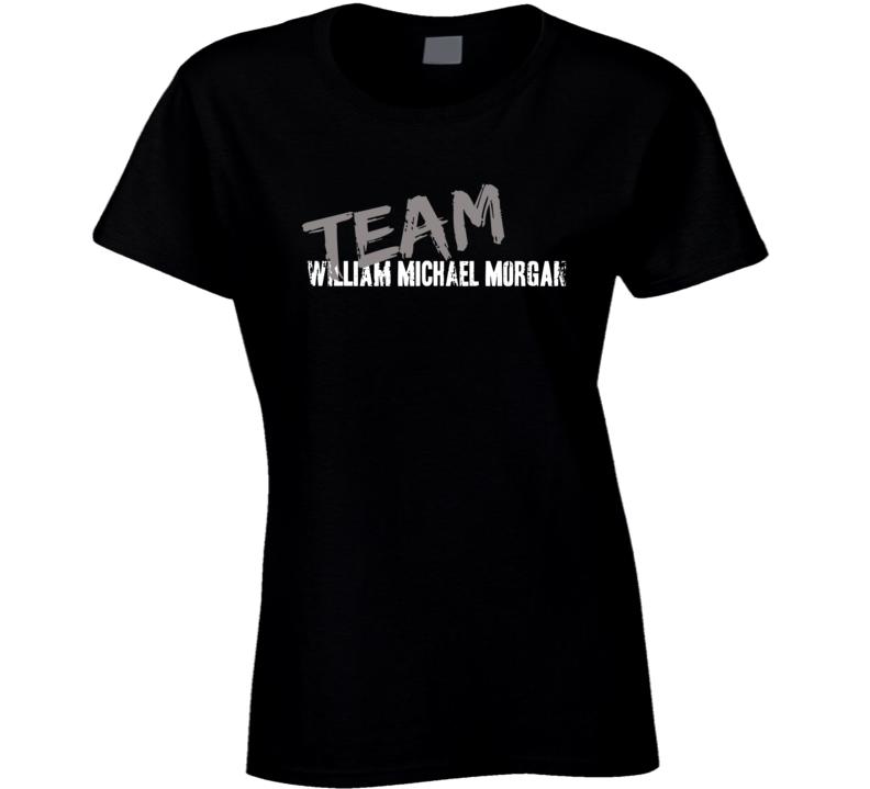 Team Williaml Morgan Country Music Artist Worn Look Ladies T Shirt