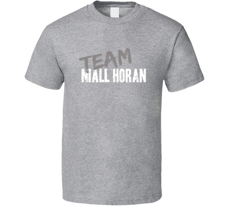 Team Niall Horan Top Pop Music Artist Worn Look Celebrity Cool T Shirt