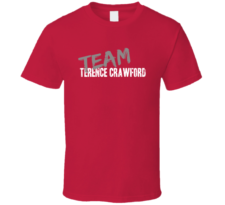 Team Terence Crawford Boxing Fan Worn Look Cool Sports Gift T Shirt