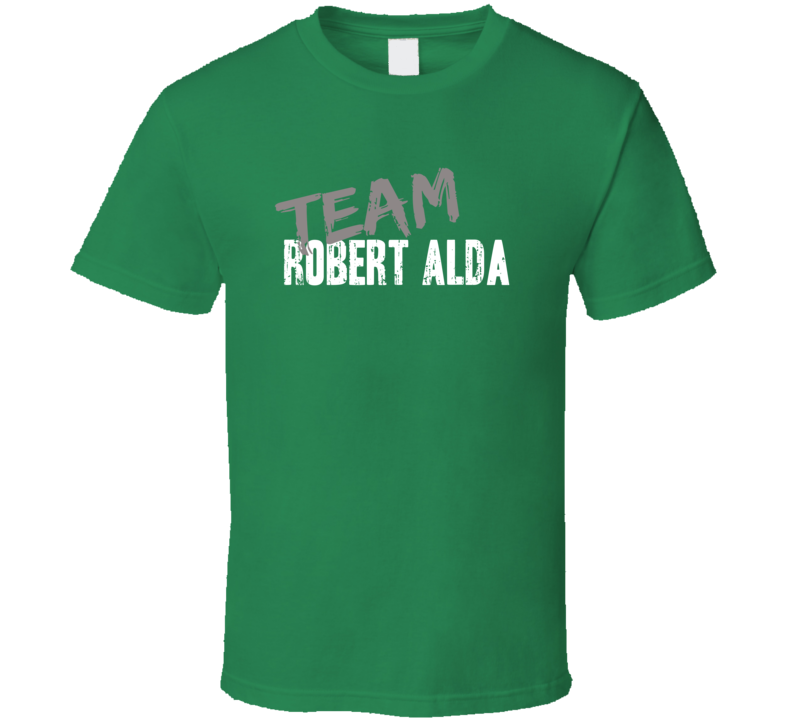 Team Robert Alda Personality Puzzle Game Show Host Worn Look T Shirt
