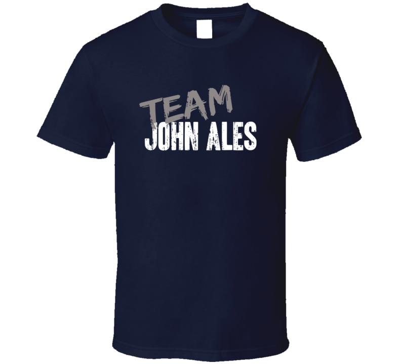 Team John Ales Lip Service Game Show Host Worn Look TV Series T Shirt