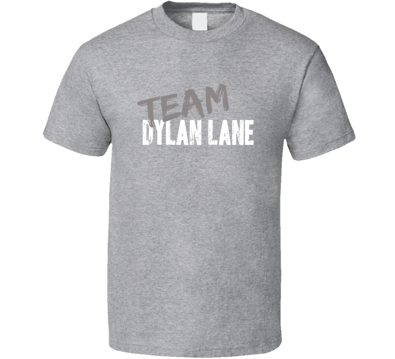 Team Dylan Lane Chain Reaction Game Show Host Worn Look T Shirt