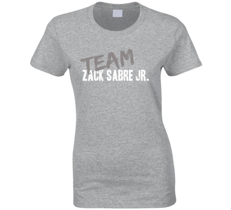 Team Zack Sabre Jr. WWE Wrestling Fan Worn Look Sports Ladies T Shirt