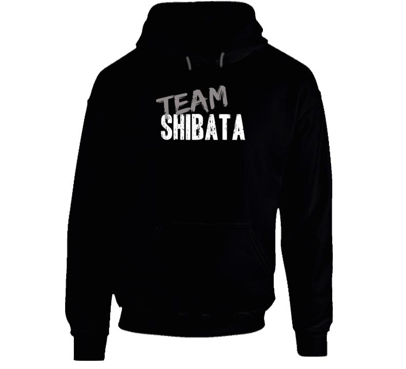 Team Shibata WWE Wrestling Fan Worn Look Cool Sports Gift Hoodie