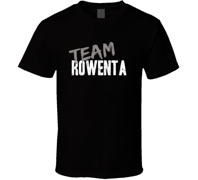 Team Rowenta Household Appliance Brand Worn Look Cool Gift T Shirt