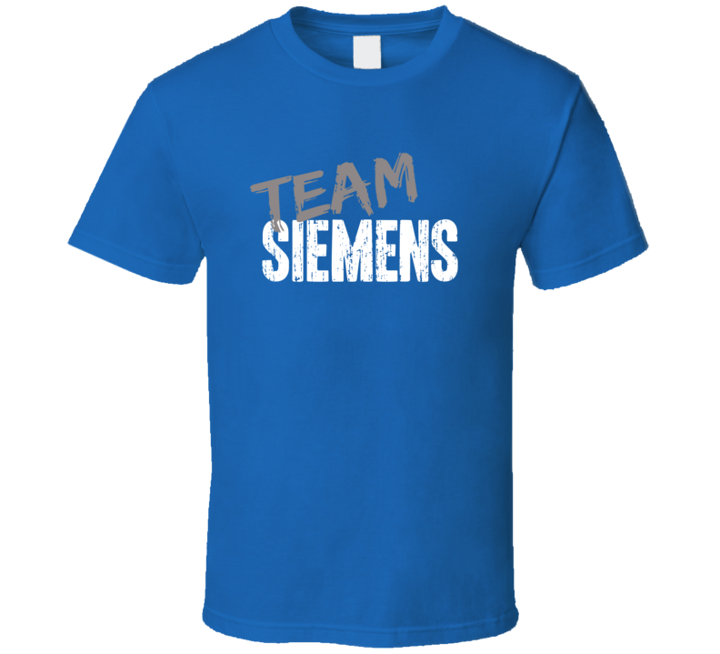 Team Siemens Household Appliance Brand Worn Look Cool Gift T Shirt