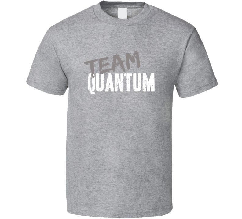 Team Quantum Fishing Sports Equipment Brands Worn Look Cool T Shirt