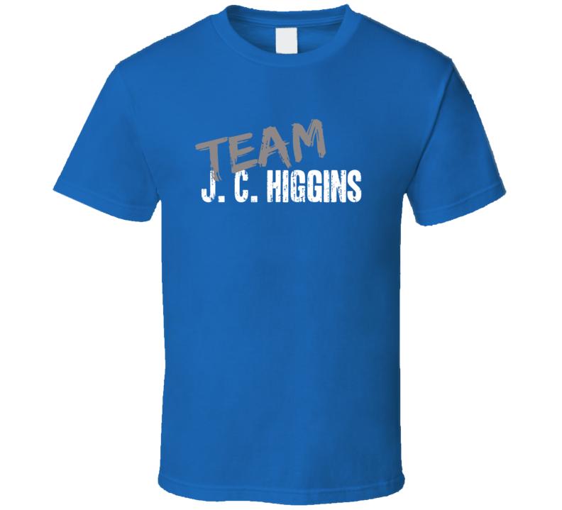Team J. C. Higgins Bicycling Sports Equipment Worn Look Cool T Shirt
