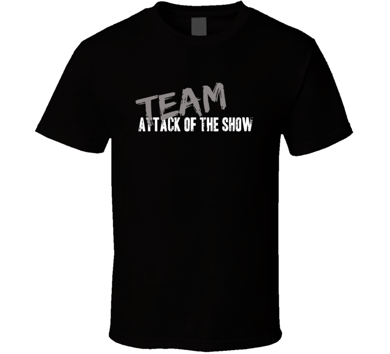Team Attack of the Show TV Show Fan Worn Look Cool Gift Hip T Shirt