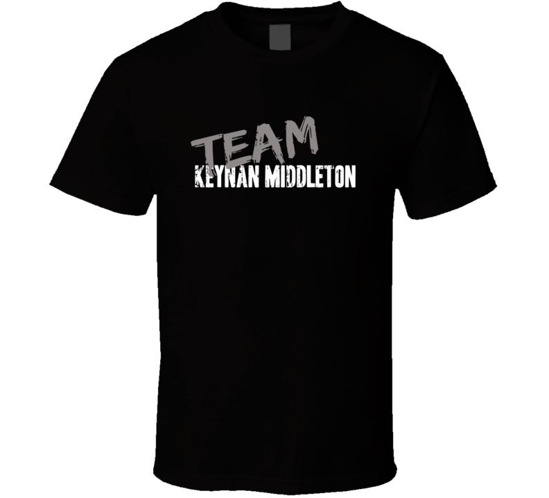 Team Keynan Middleton Baseball Player Fan Worn Look Sports T Shirt