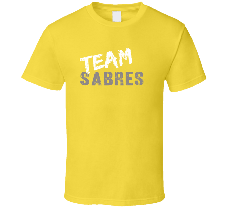 Team Sabres Buffalo Hockey Fan Funny Sports T Shirt