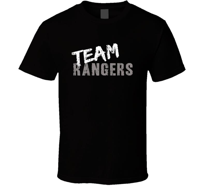 Team Rangers New York Hockey Fan Funny Sports T Shirt