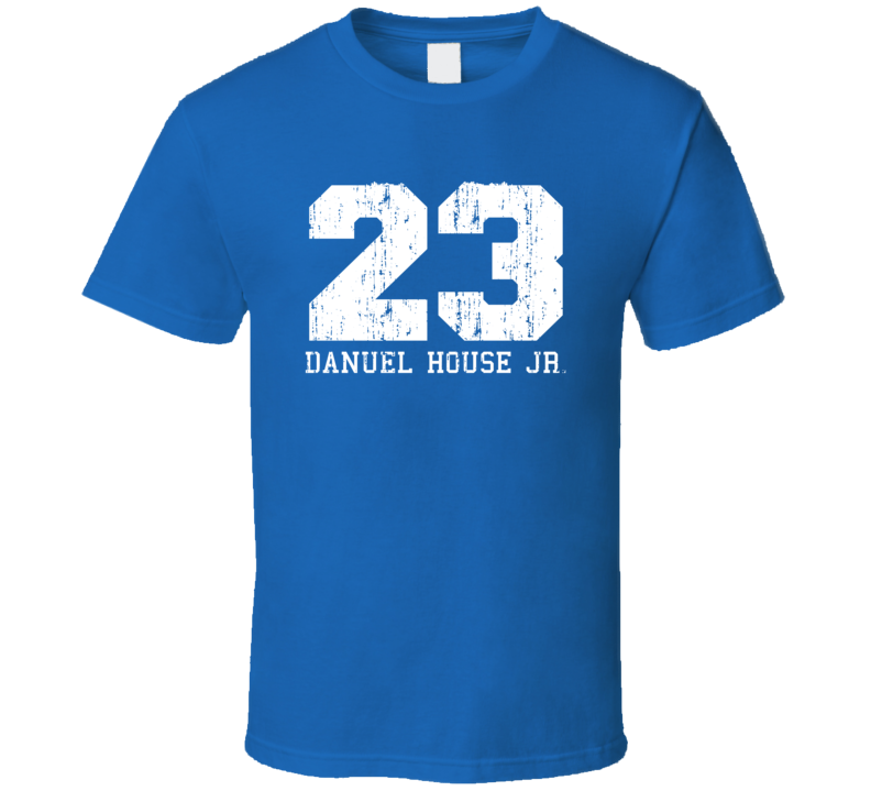 Danuel House Jr. No.23 Golden State Basketball Fan Worn Look Sports T Shirt