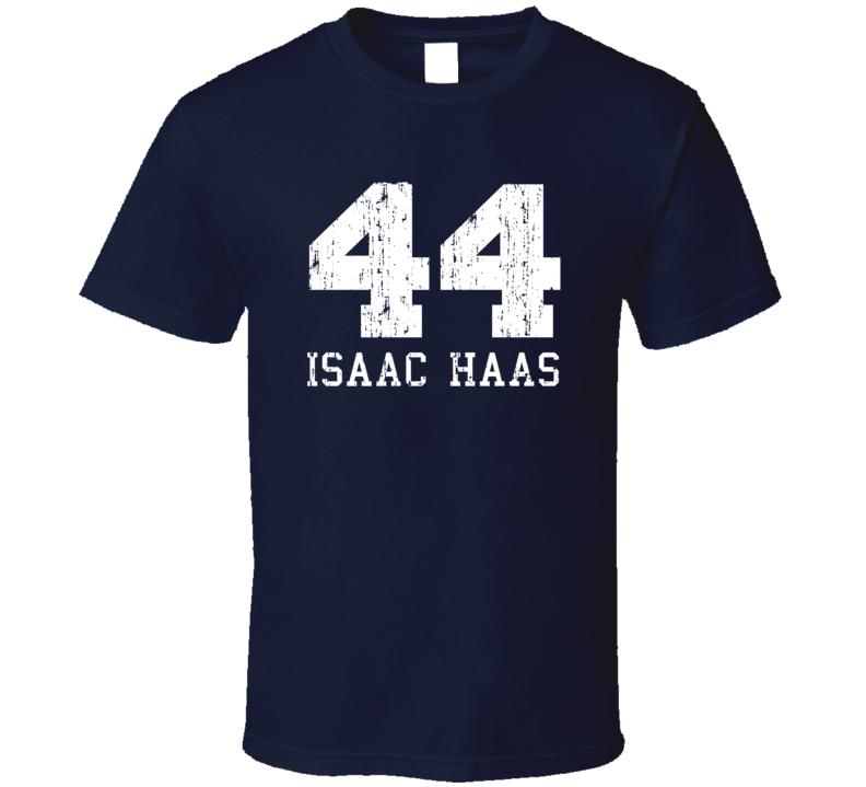 Isaac Haas No.44 Utah Basketball Fan Worn Look Sports T Shirt