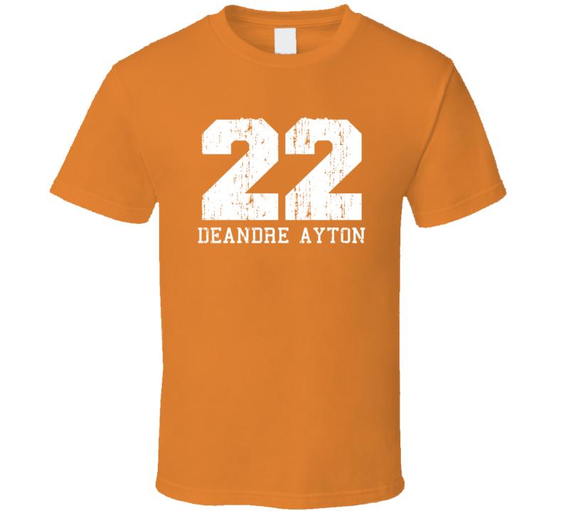 Deandre Ayton No.22 Phoenix Basketball Fan Worn Look Sports T Shirt