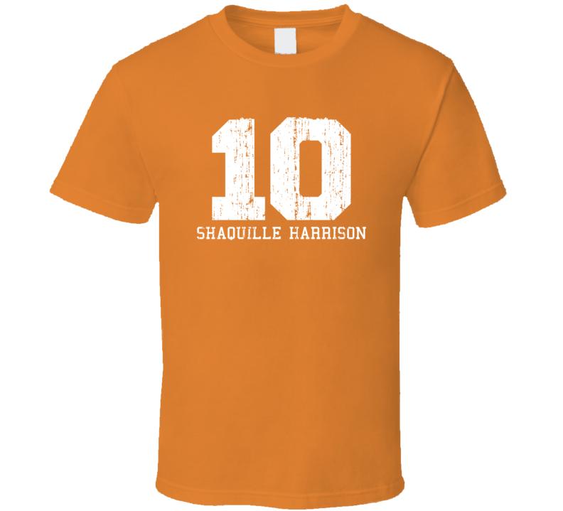 Shaquille Harrison No.10 Phoenix Basketball Fan Worn Look Sports T Shirt