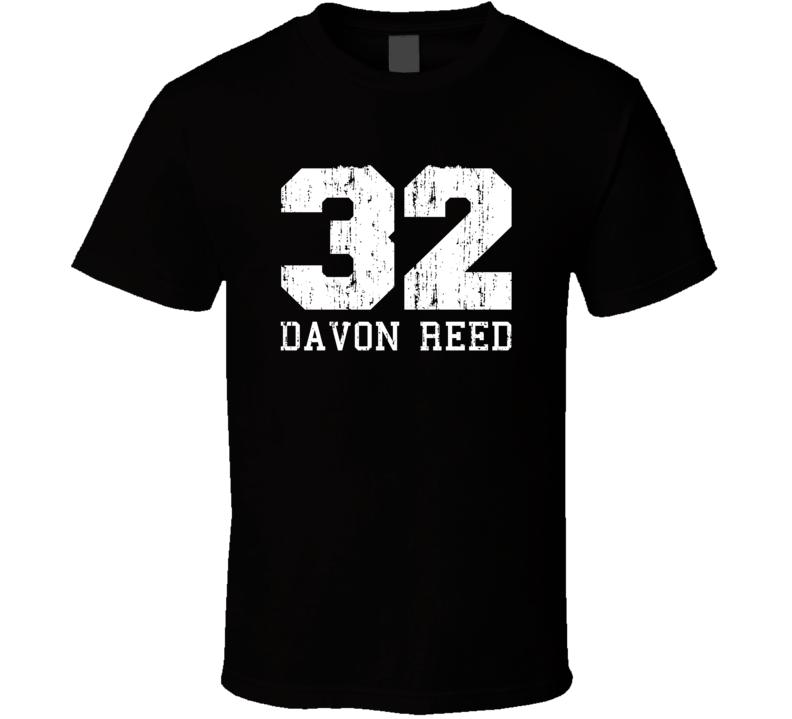 Davon Reed No.32 Phoenix Basketball Fan Worn Look Sports T Shirt