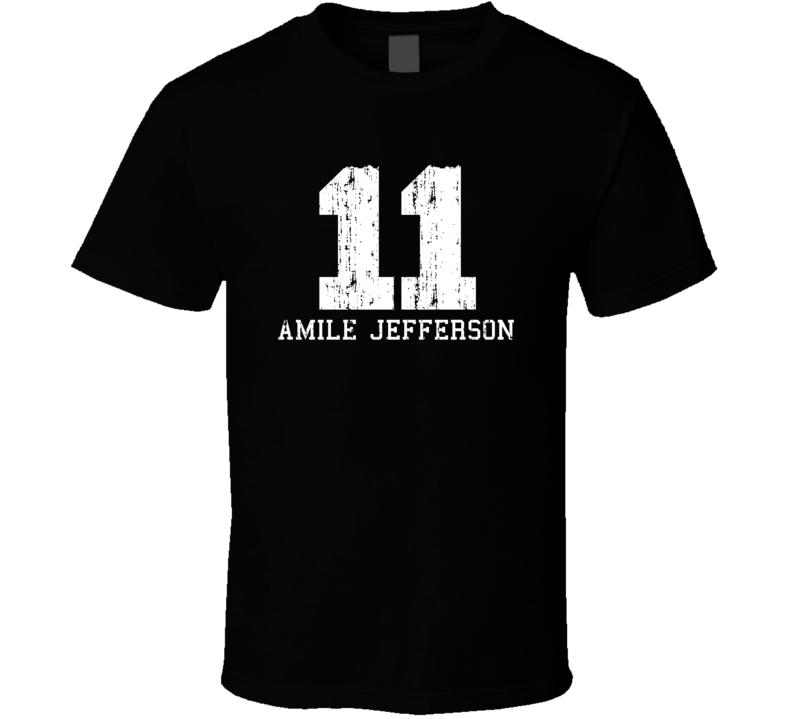 Amile Jefferson No.11 Orlando Basketball Fan Worn Look Sports T Shirt