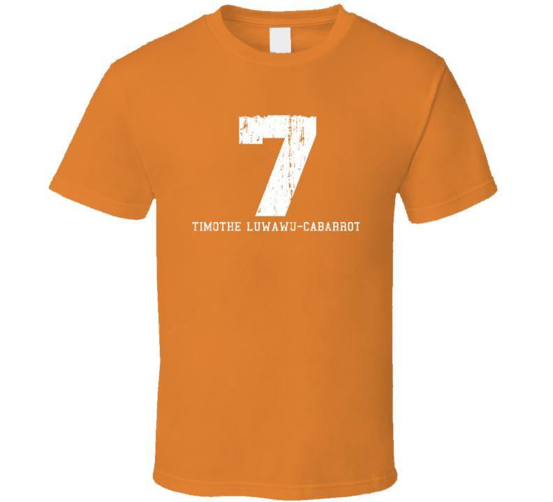 Timothe Luwawu-Cabarrot No.7 Oklahoma Basketball Fan Worn Look Sports T Shirt
