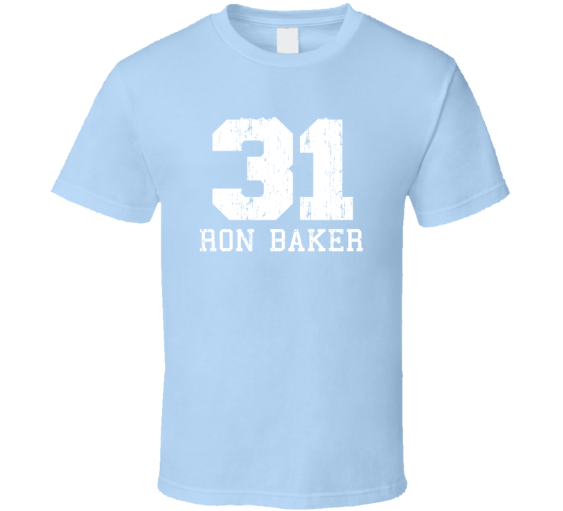 Ron Baker No.31New York Basketball Fan Worn Look Sports T Shirt