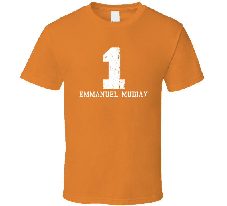 Emmanuel Mudiay No.1New York Basketball Fan Worn Look Sports T Shirt