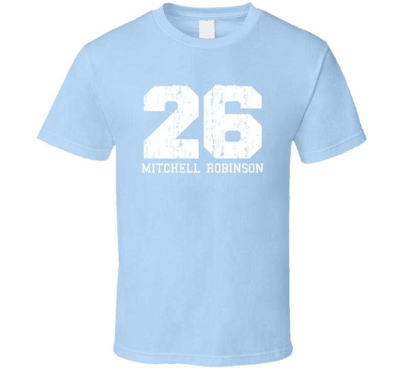 Mitchell Robinson No.26New York Basketball Fan Worn Look Sports T Shirt