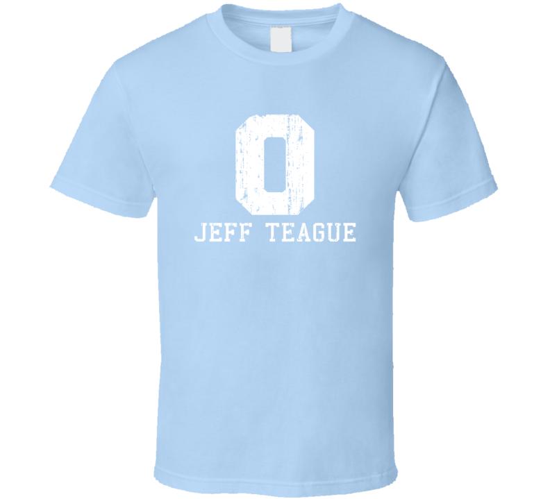 Jeff Teague No.0 Minnesota Basketball Fan Worn Look Sports T Shirt