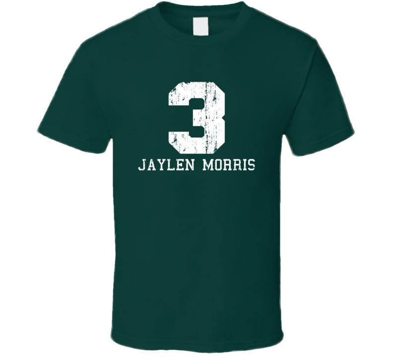 Jaylen Morris No.3 Milwaukee Basketball Fan Worn Look Sports T Shirt