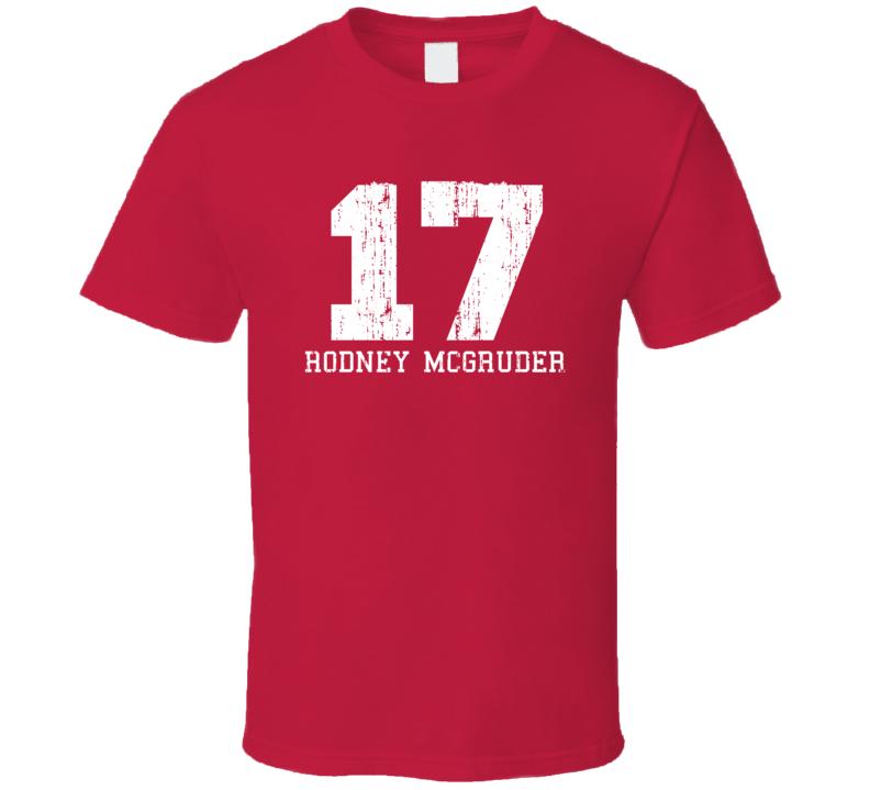 Rodney McGruder No.17 Miami Basketball Fan Worn Look Sports T Shirt