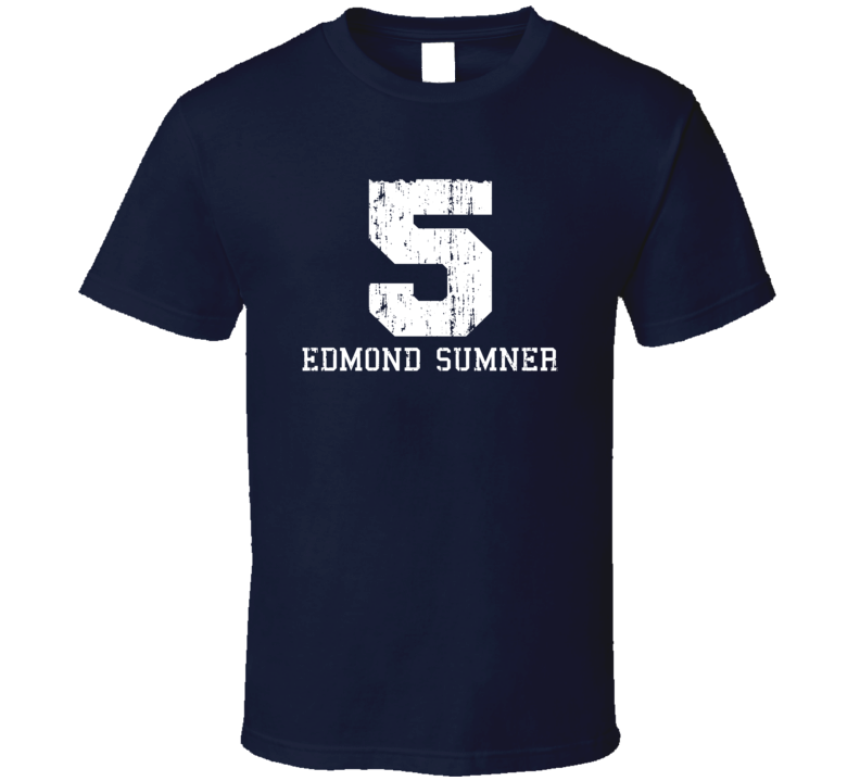 Edmond Sumner No.5 Indiana Basketball Fan Worn Look Sports T Shirt