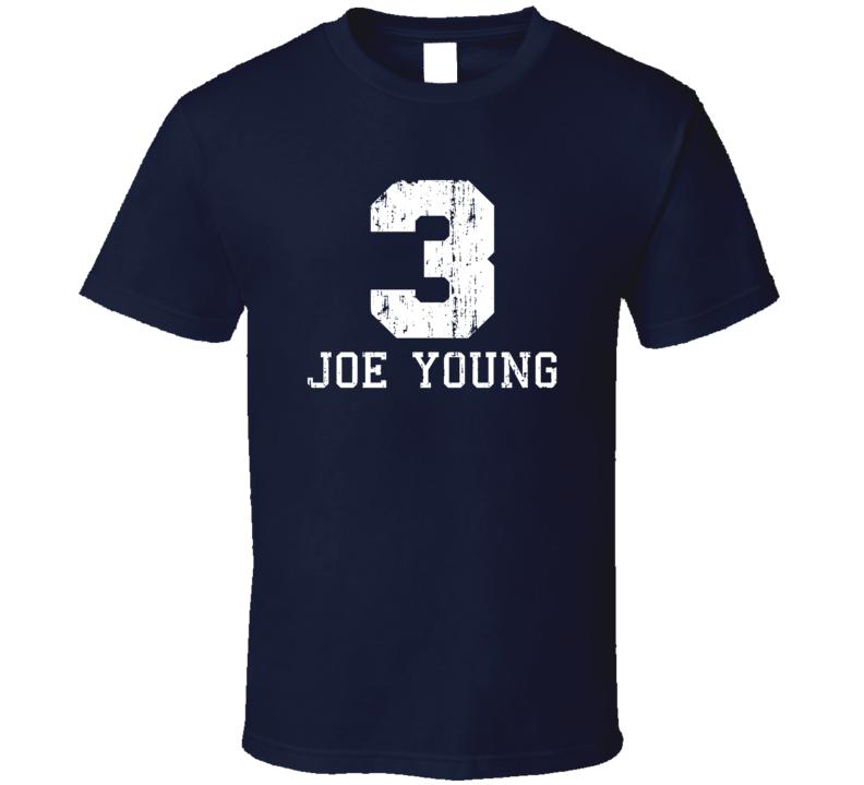 Joe Young No.3 Indiana Basketball Fan Worn Look Sports T Shirt