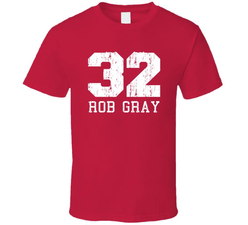 Rob Gray No.32 Houston Basketball Fan Worn Look Sports T Shirt