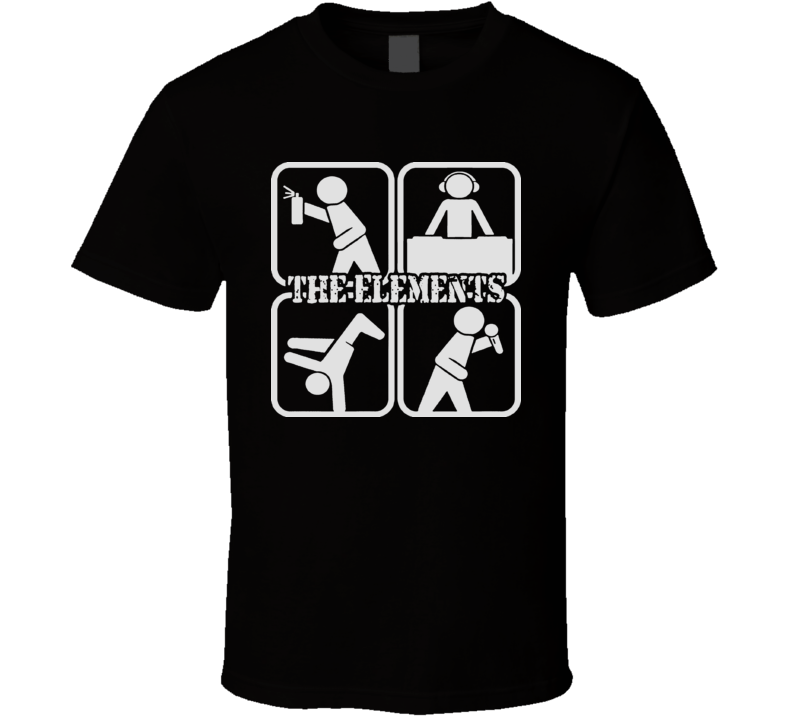 The Hip Hop Elements Rap T Shirt