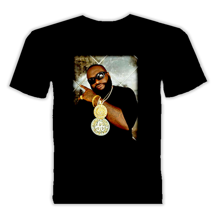 Rick Ross Maybach Music Hip Hop Rap T Shirt