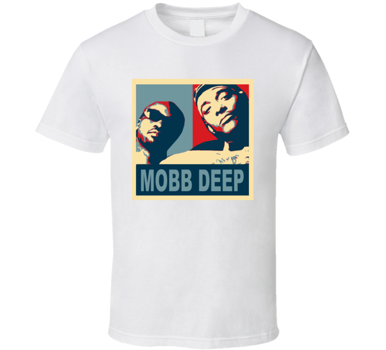 Mobb Deep Hip Hop Hope Rap T Shirt