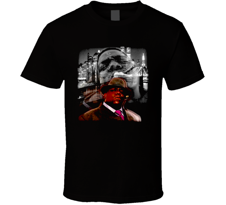 Biggie Smalls Brooklyn Bridge Hip Hop T Shirt