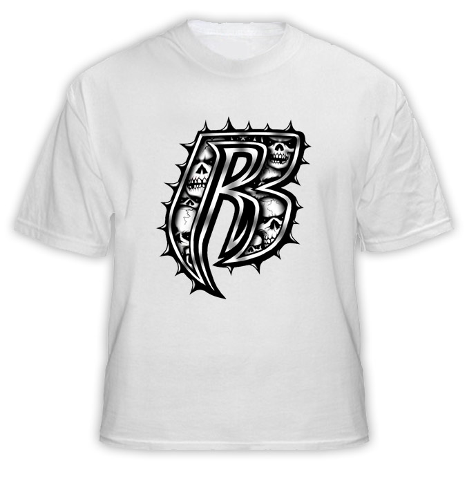 Ruff Ryders Skull Hip Hop Rap T Shirt