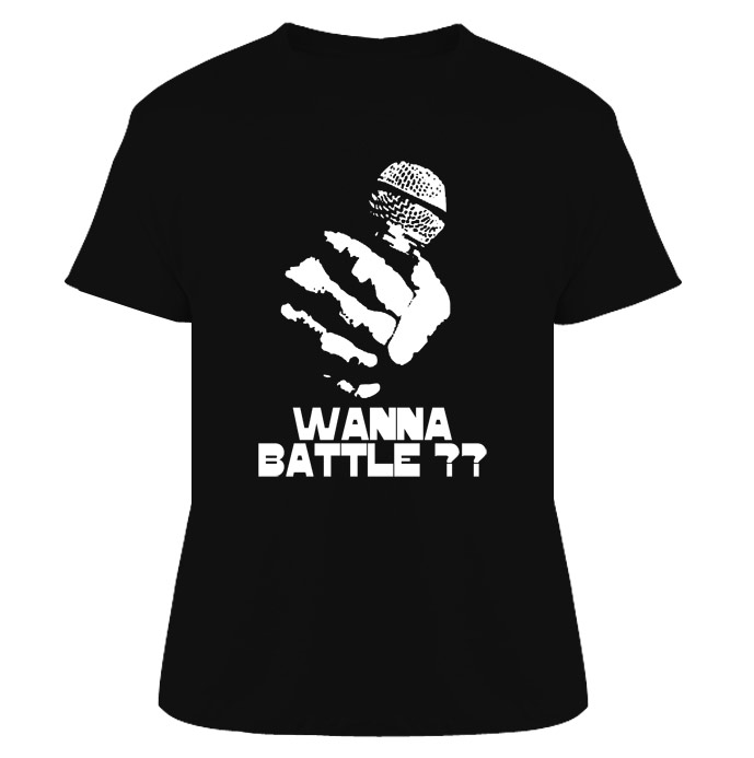 Wanna Battle MC Hip Hop Rap T Shirt