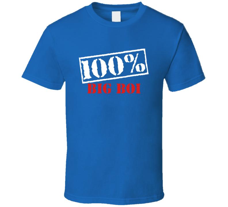 Outkast Big Boi 100 Percent Rap Hip Hop T Shirt
