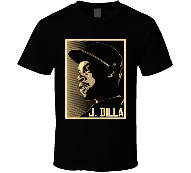 Jay Dee Slum Village Hip Hop Rap T Shirt