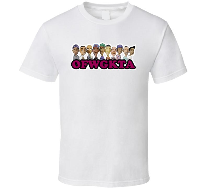 OFWGKTA Wolf Gang Rappers Rap T Shirt