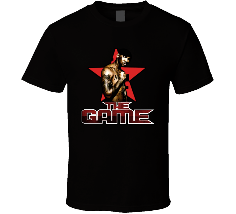 The Game Rapper Jayceon Rap T Shirt