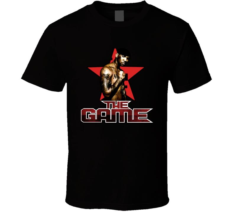The Game Rapper Jayceon Rap T Shirt