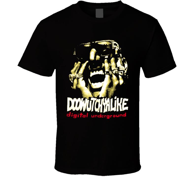 Digital Underground Doowutchyalike Hip Hop Rap T Shirt