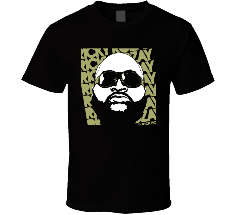 Ricky Rozay Rick Ross Rap T Shirt